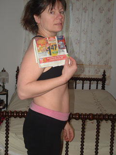 Weightloss and Fitness for Mom - day one picture