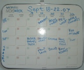 Getting Started with the Meal Planning White Board