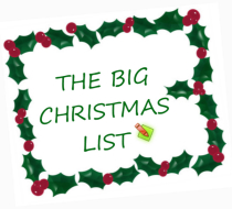 big christmas list210x190 Have One Focused Goal In Mind   Every Day