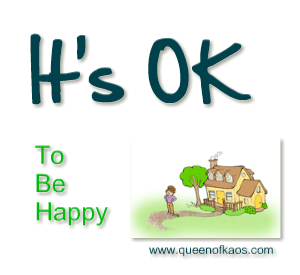 It's OK to be happy