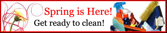 cleaningbanner Spring Cleaning Tips for Mom